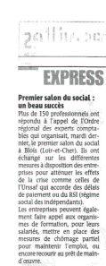 Article paru dans La République du Centre du 30 juin 2009