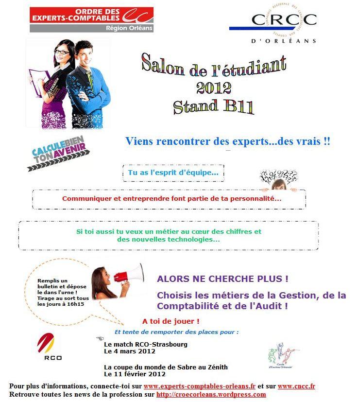 Crcc le blog du croec orl ans - Salon etudiant orleans ...