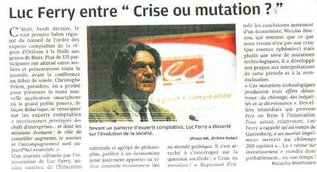 crise ou mutation