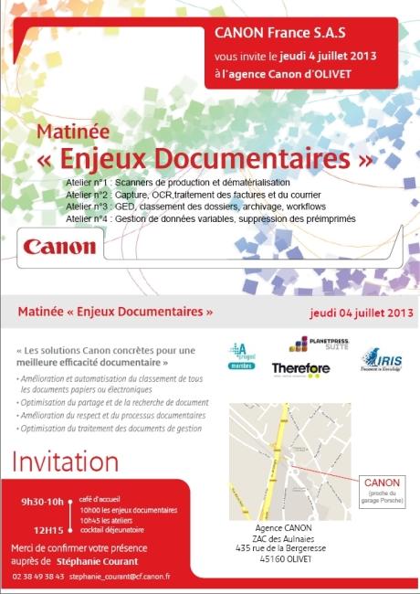 Matinée Enjeux Documentaire
