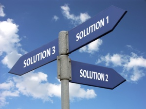 three solutions
